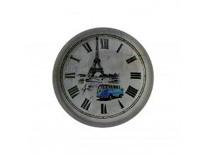 hodinky hodiny nastenne magneticke magnet na lednicku volkswagen hipis