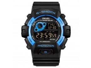 panske sportovni digitalni hodinky smael 1446 modre