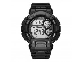 panske sportovni digitalni hodinky smael 1443 cerne