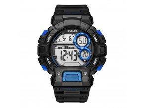 panske sportovni digitalni hodinky smael 1443 modre