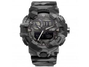 digitalni hodinky smael 8001 gray