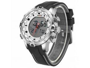 panske hodinky weide s dualnim casem 6310 2c s boku