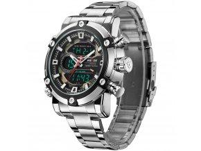 panske hodinky weide s dualnim casem 9603 5C z boku