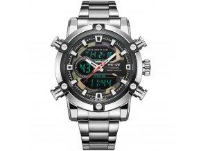 panske hodinky weide s dualnim casem 9603 5C