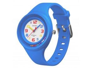 detske hodinky s koralky skmei 1386 svetle modre 3h