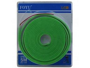 neonove led pasky pro podsviceni efekt neon zelena barva