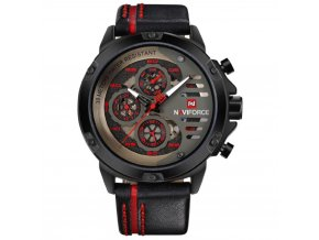 panske hodinky rucickove naviforce 9110 red