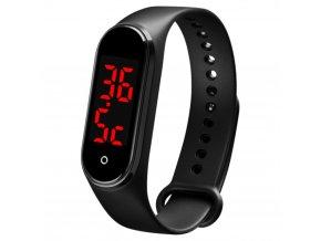 hodinky s teplomerem pro odhaleni zvysene teploty nemoci smart