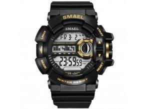 panske sportovni hodinky 1385 smael zlate