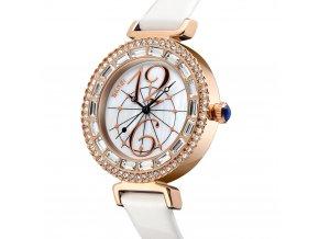 damske hodinky s krystaly skmei 9158 bile