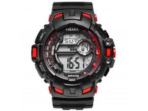 sportovni vodotesne hodinky 5 atm smael 1532 a cervene
