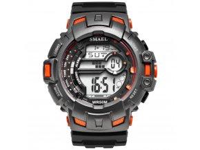 Sportovní digitální hodinky Smael 1532A oranžové