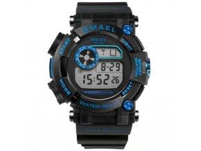 sportovni vodotesne hodinky 5 atm smael 1638 modre