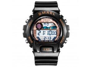 digitalni hodinky smael 0931 zlate