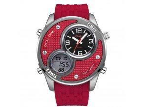 hip hop hodinky s velkym obrovskym cifernikem 1199 cervene