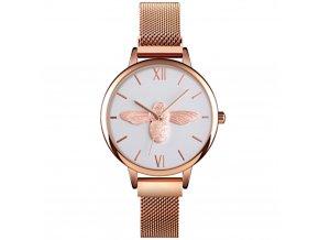 damske hodinky rose zlate skmei 9212