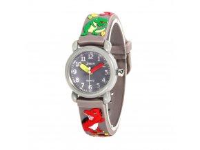 detske hodinky jnew s 3d reminkem barevne sedy dracek pro kluky 86172 3 1