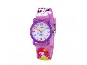 detske hodinky jnew s 3d reminkem barevne fialove 86169 2