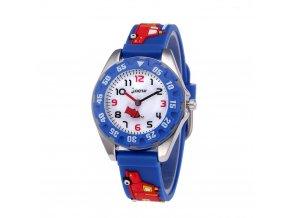 detske hodinky jnew s 3d reminkem barevne pozarnici 20076 a