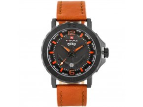 panske hodinky NAVIFORCE NF9122 zn056d orange camel 9324 1 hlavni