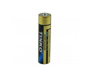 alkalicka mikro tuzkova baterie lr3 aaa tinko gp