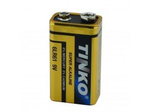 alkalicka baterie 9V 6 lr61