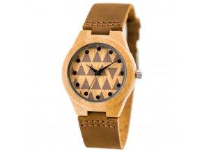 damske hodinky drevene zx629a