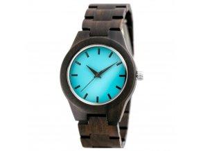 damske hodinky drevene zx647a