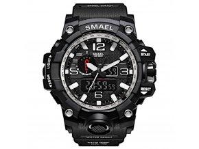 digitalni hodinky s dualnim casem smael 1545 silver