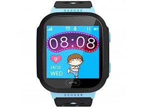 chytre hodinky s gps lokatorem pro deti modre