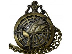 kapesni hodinky praveky ptak