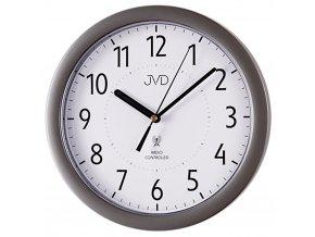 nastenne hodiny rizene radiovym signalem jvd 11 stribrne