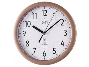 nastenne hodiny rizene radiovym signalem jvd 10 bronze