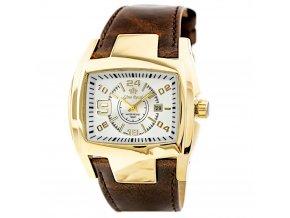 panske rucickove hodinky gino rossi s kozenym reminkem zg057h hlavni