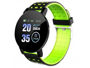 chytre smart hodinky skmei 119 plus zelene 2