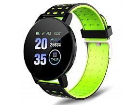 chytre smart hodinky 119plus zelene