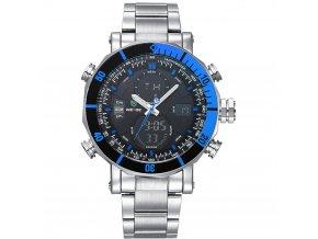 panske sportovni hodinky weide wh 5203 modre hlavni