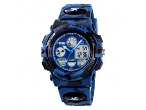 sportovni hodinky s dualnim casem skmei 1163 maskovane