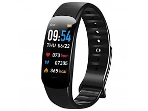 chytry smart naramek hodinky c1 plus cerne hlavni