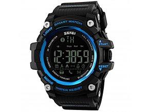 chytre smart hodinky skmei 1227 modre hlavni