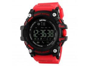 chytre smart hodinky skmei 1227 cervene hlavni