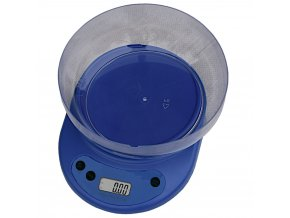 digitalni kuchynska vaha s miskou modra eshophodinek