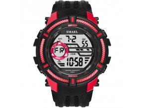 digitalni hodinky smael 1616 cervene