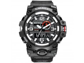 digitalni hodinky smael 8035 černé