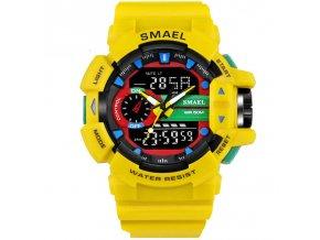 digitalni hodinky smael 1436 zlute