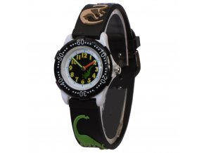 detske hodinky 3 d dynosauri black