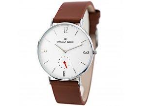 panske hodinky jordan kerr pv187 s kozenym reminkem hlavni