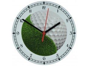 nastenne golfove hodiny s tichym chodem pro golfisty golf