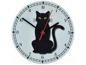 nastenne kocici hodiny s kocickou kocka s tichym chodem