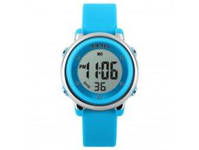 detske digitalni hodinky skmei 1100 modre svetle